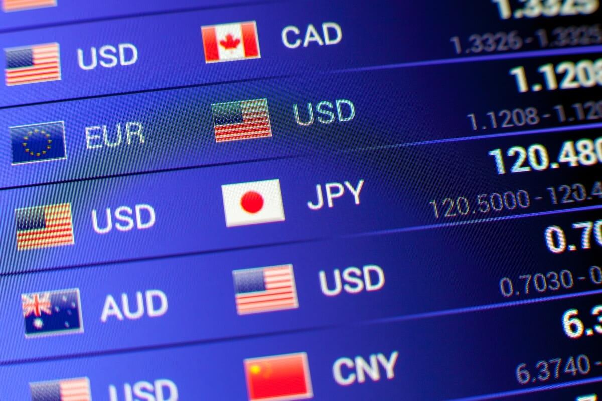 Các cặp tiền tệ trong thị trường Forex