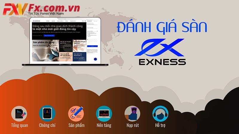 Tất cả thông tin về đánh giá sàn Exness Forex