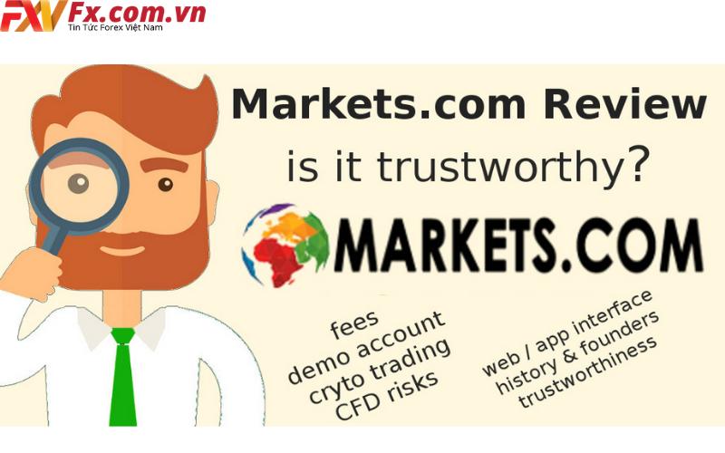 Đánh giá sàn Markets.com