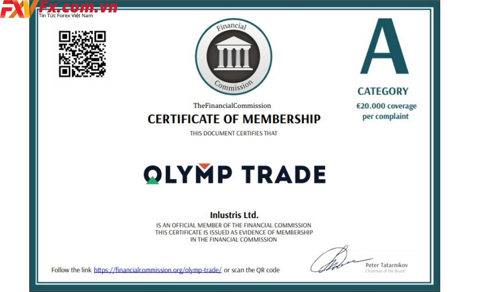 Đánh giá về olymp trade