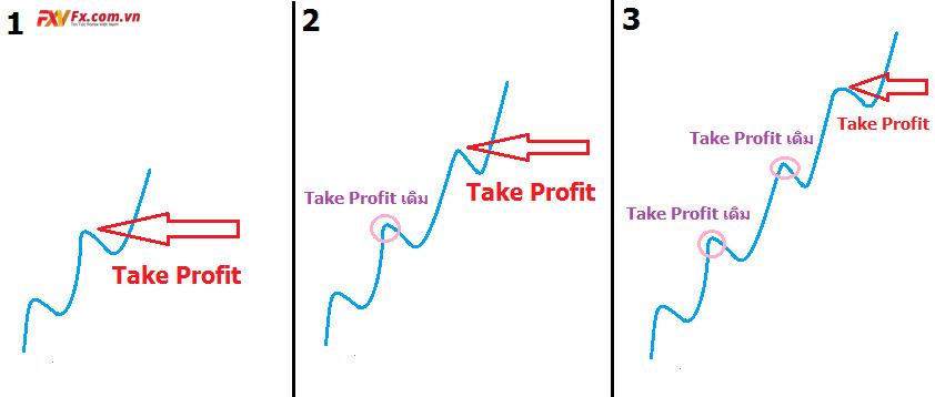 Take profit là gì? Take profit theo trend?