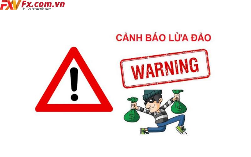 Cảnh báo sàn giao dịch lừa đảo.