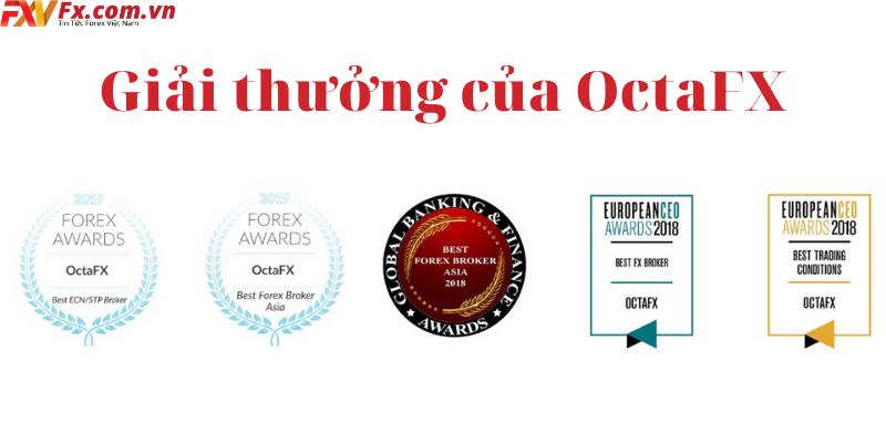 Giải thưởng của OctaFX