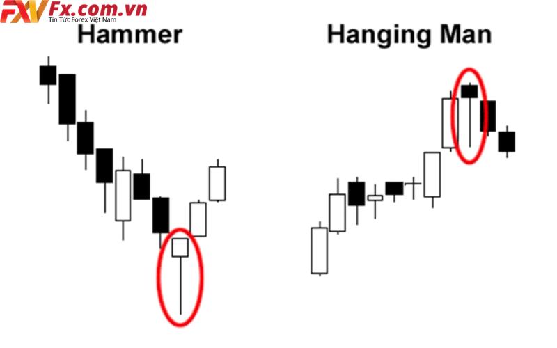 Hanging Man và Hammer
