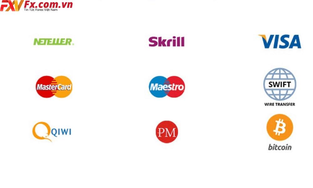 Nạp và rút tiền tại LiteForex