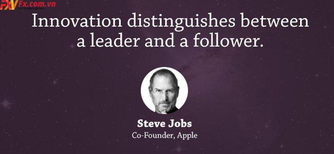 những câu nói hay trong kinh doanh-steve Jobs