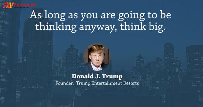 những câu nói hay trong kinh doanh-Donald Trump