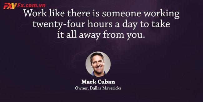 những câu nói hay trong kinh doanh-Mark Cuban
