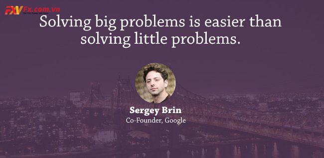 những câu nói hay trong kinh doanh-Segrey Brin
