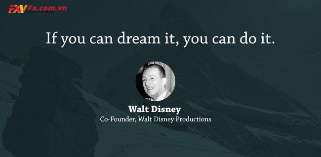 những câu nói hay trong kinh doanh-Walt Disney