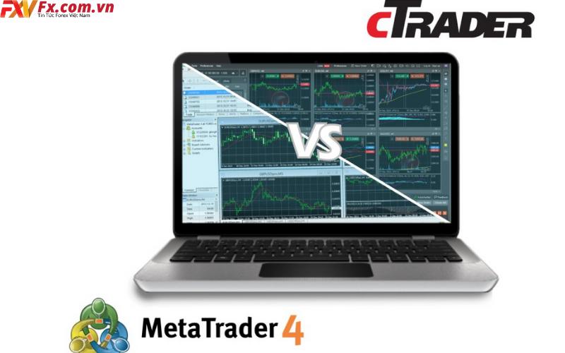 Đánh giá cTrader và phần mềm MT4