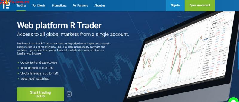 Đánh giá sàn RoboForex qua nền tảng giao dịch