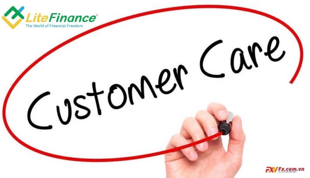 Đội ngũ hỗ trợ tại LiteFinance