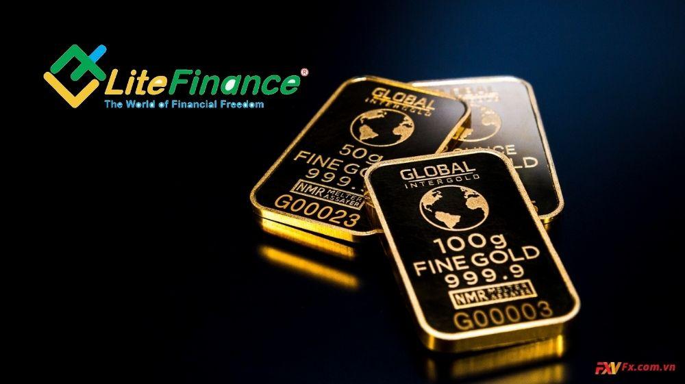 Diễn biến của phí spread vàng của LiteFinance