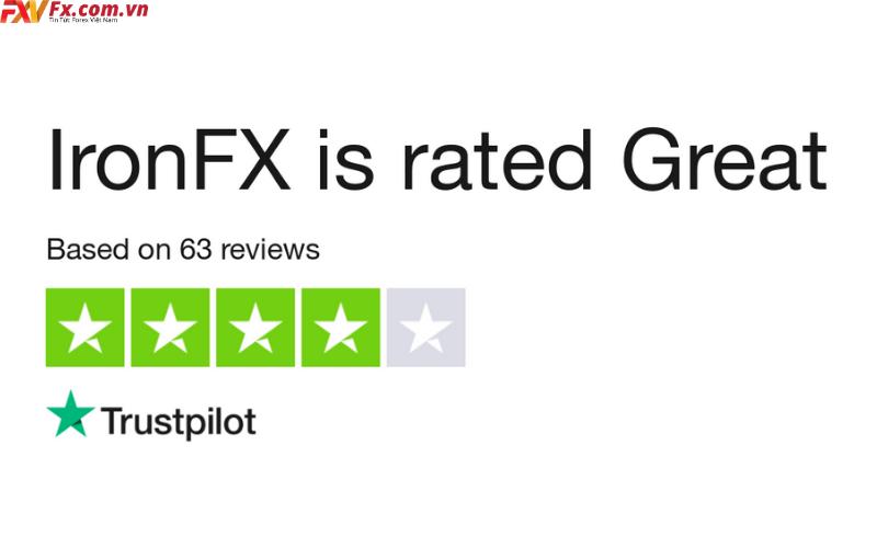 IronFX uy tín hay lừa đảo Có nên tham gia vào Iron hay không