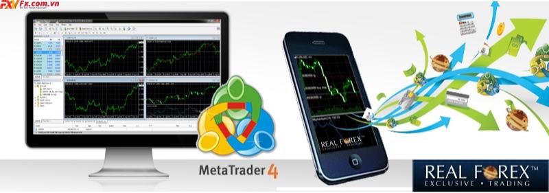 MT4 tại sàn giao dịch tại Real Forex