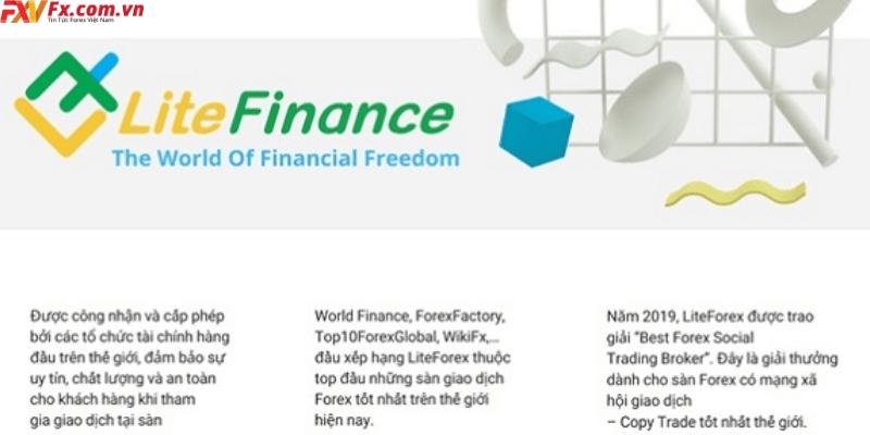 Sản phẩm giao dịch tại LiteFinance