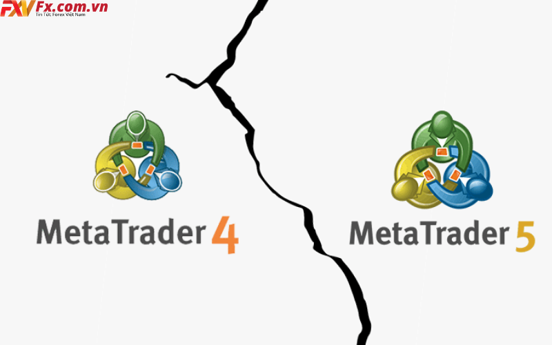 So sánh phần mềm MT4 và MT5