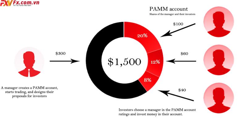 So sánh tài khoản MAM và PAMM