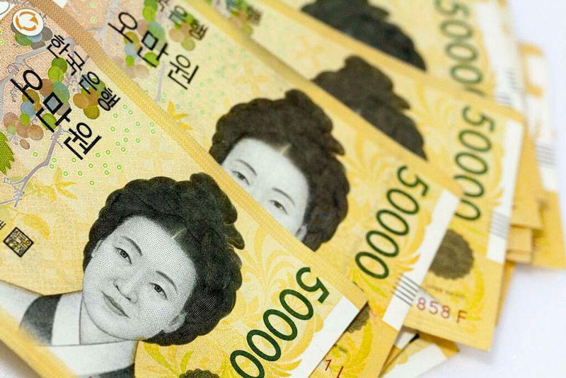 tiền won có xu hướng tăng