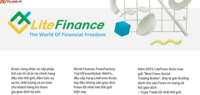 Thông tin chung về LiteFinance Forex broker