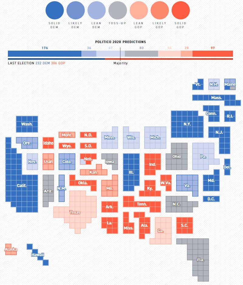 Cuộc thăm dò bầu cử tổng thống Mỹ 2020