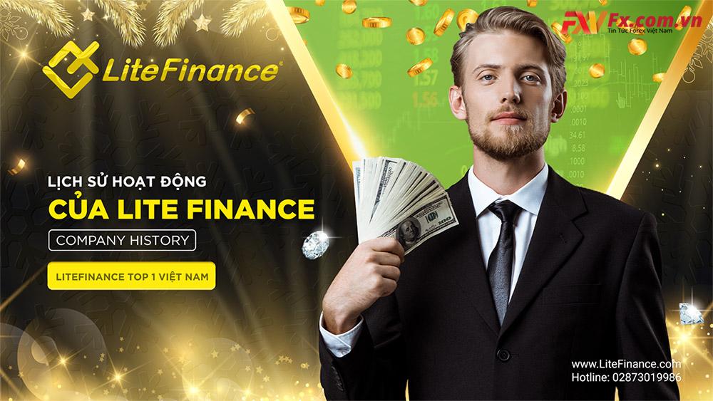 Quá trình hình thành của LiteFinance Forex broker