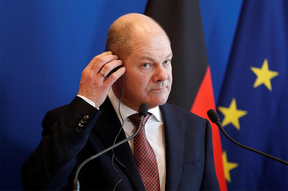 Bộ trưởng tài chính Đức Olaf Scholz