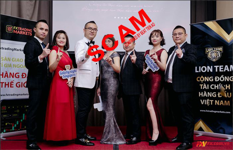 FX Trading Markets Lion Team lừa đảo