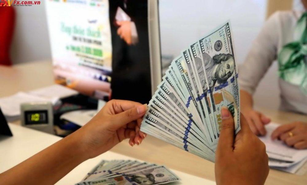 Tỷ lệ dự trữ đồng Đô la Mỹ giảm mạnh
