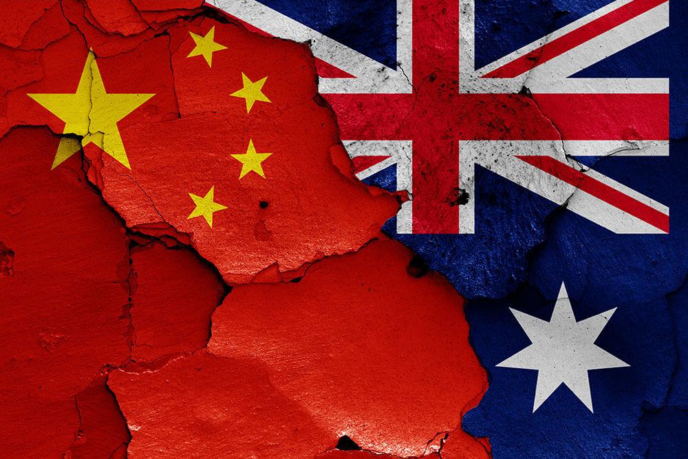 Căng thẳng thương mại Australia và Trung Quốc
