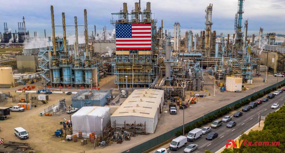 Các doanh nghiệp khai thác dầu mỏ tại Mỹ chỉ số đều tăng