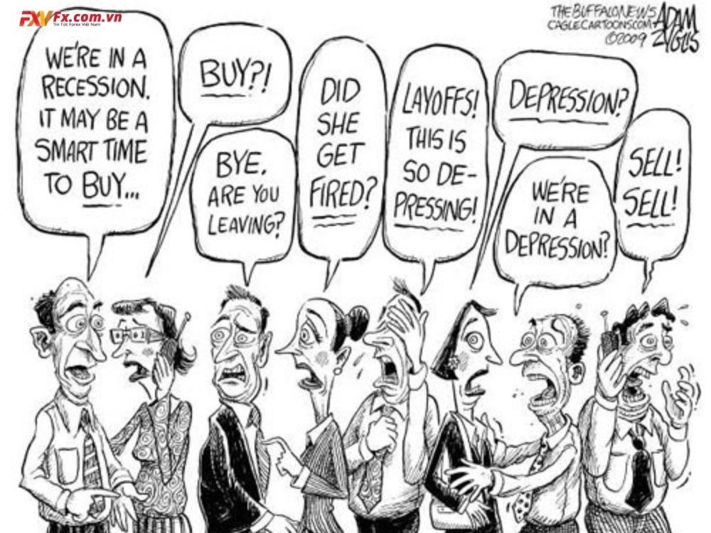 Mối tương quan thuận của thị trường cổ phiếu quốc tế và Forex
