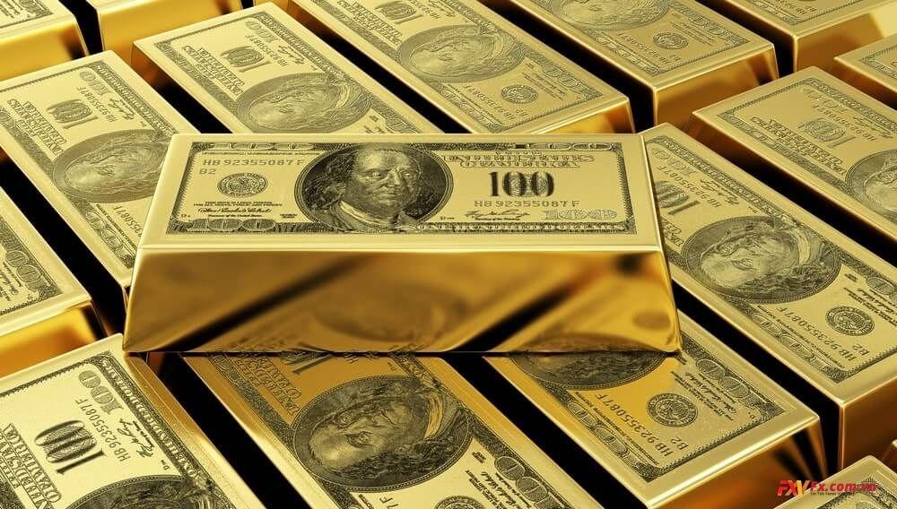 Quan hệ của vàng và các cặp tiền chính