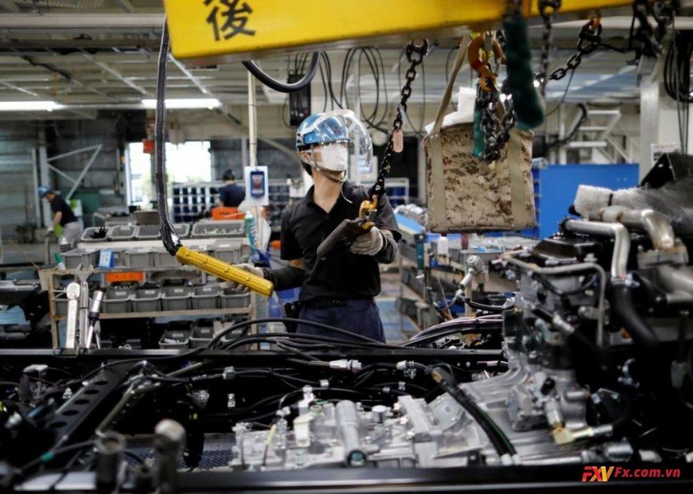 Sự phục hồi trong kinh tế Nhật và dữ liệu sản xuất
