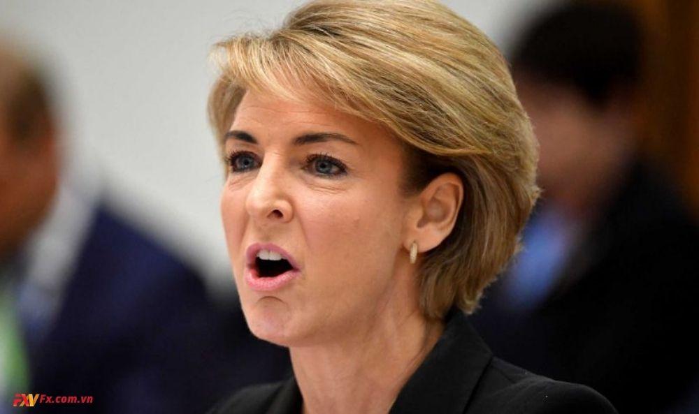 Bộ trưởng Bộ Việc làm Michaelia Cash
