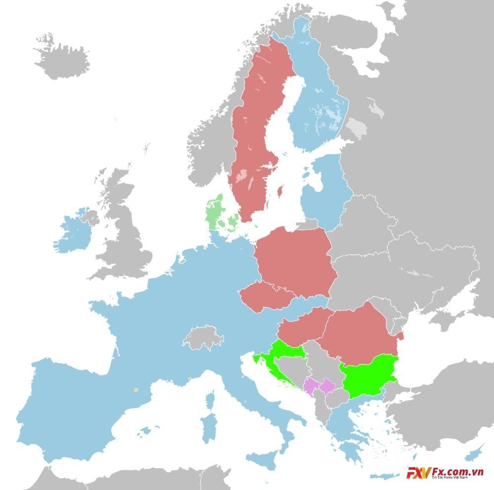 Eurozone - Sự kiện và những con số