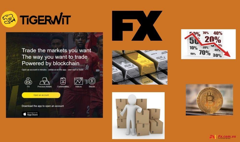 Sản phẩm giao dịch của TigerWit