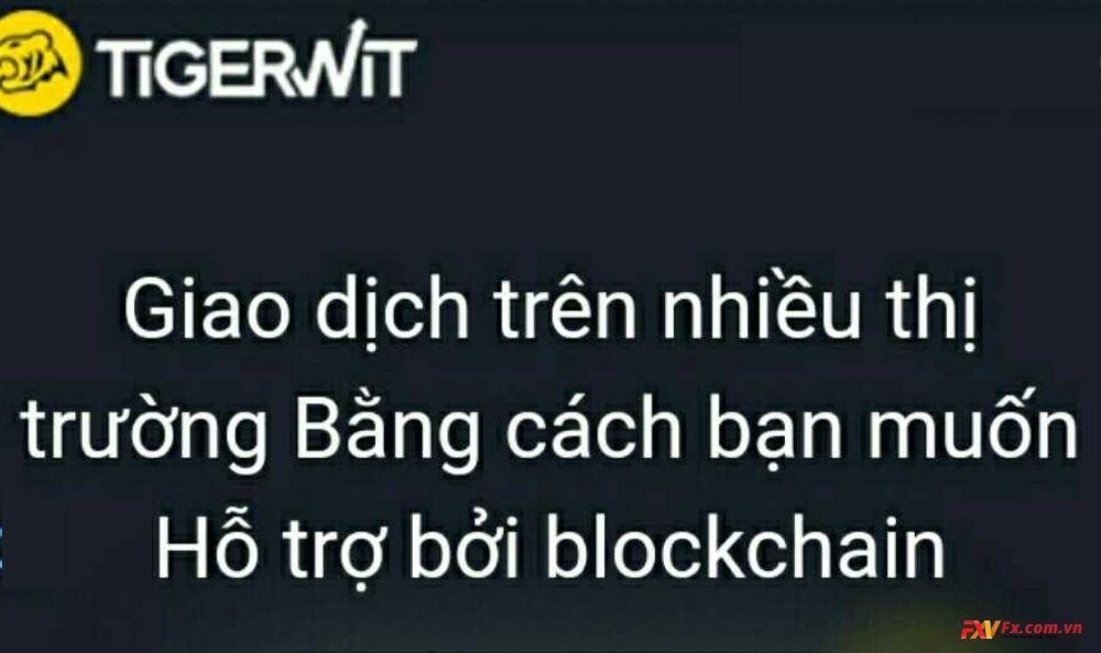 Tigerwit thanh toán thương mại dựa trên blockchain