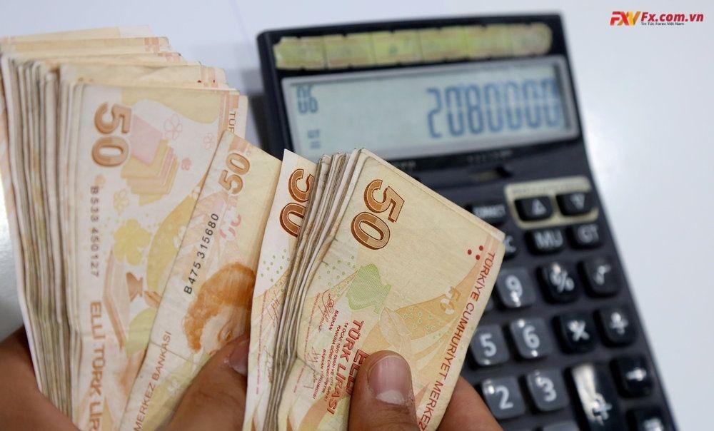 Đồng lira của Thổ Nhĩ Kỳ sụp đổ vì sự thay thế Thống đốc NHTW