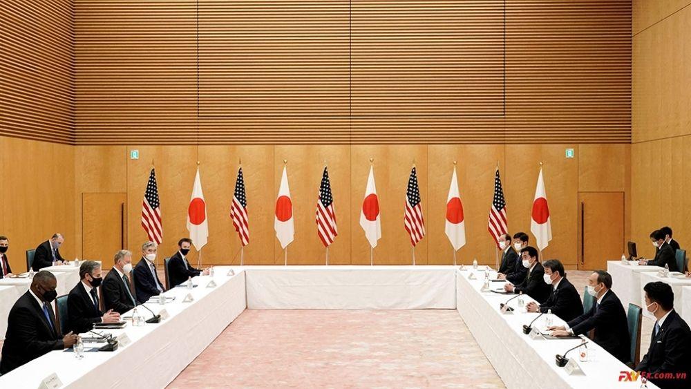 Cuộc họp giữa Mỹ và Nhật trước sự lộng hành của Trung Quốc