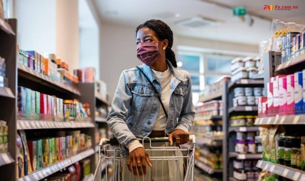Giá bán tại các cửa hàng ở Anh giảm mạnh vì dịch bệnh