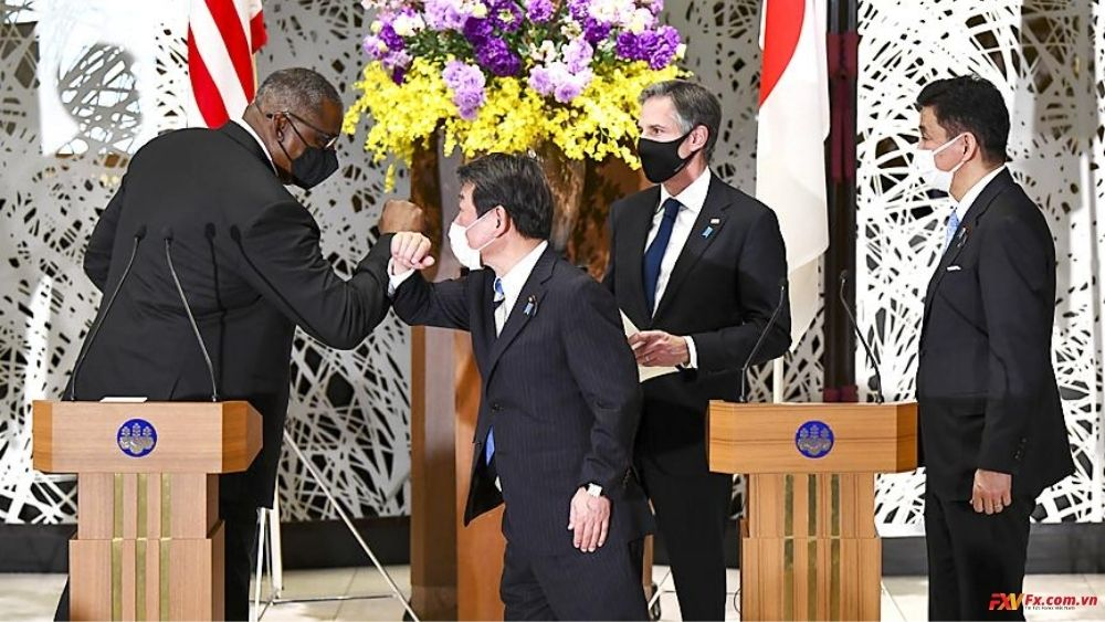 Mỹ và Nhật cảnh cáo Trung Quốc về hành vi lấn chiếm lãnh thổ