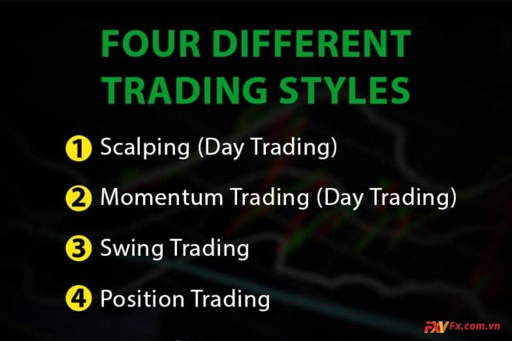 Tìm hiểu về các loại phong cách giao dịch hiện nay