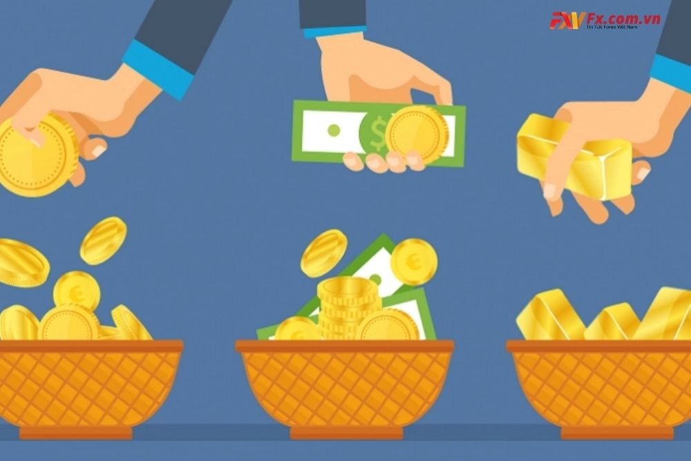 Đa dạng hóa rủi ro nhờ vào tương quan tiền tệ