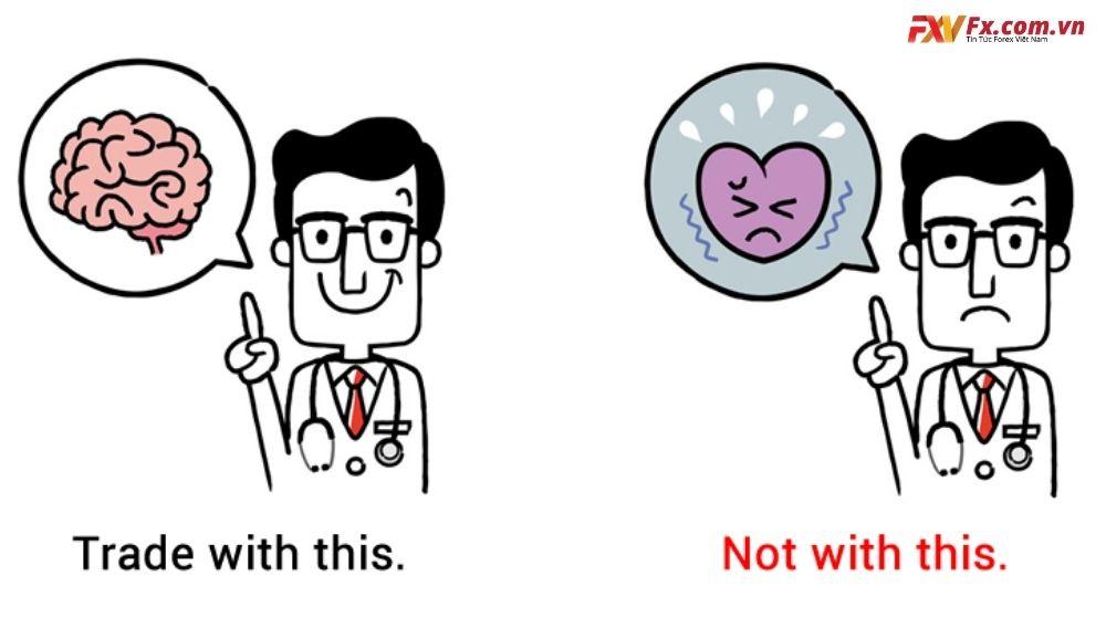 Điều cần thiết là phải lý trí, chứ không phải là trái tim