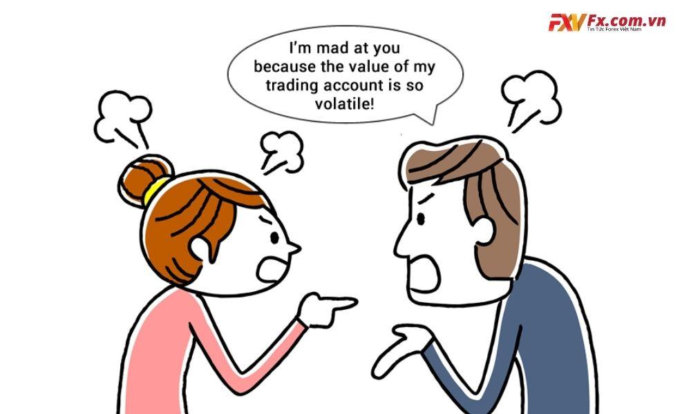 Cảm xúc có thể ảnh hưởng rất lớn đến giao dịch của bạn