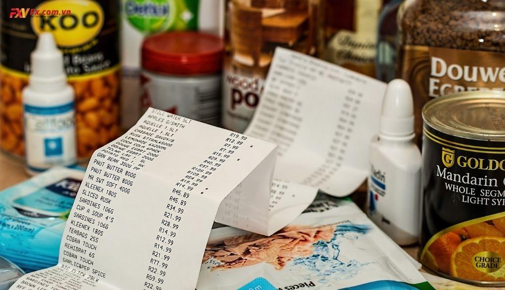 Chỉ số giá tiêu dùng đang phát triển theo đà tăng dần