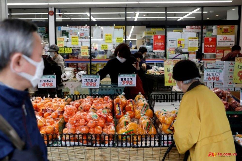 Chi tiêu hộ gia đình Nhật Bản tháng 2