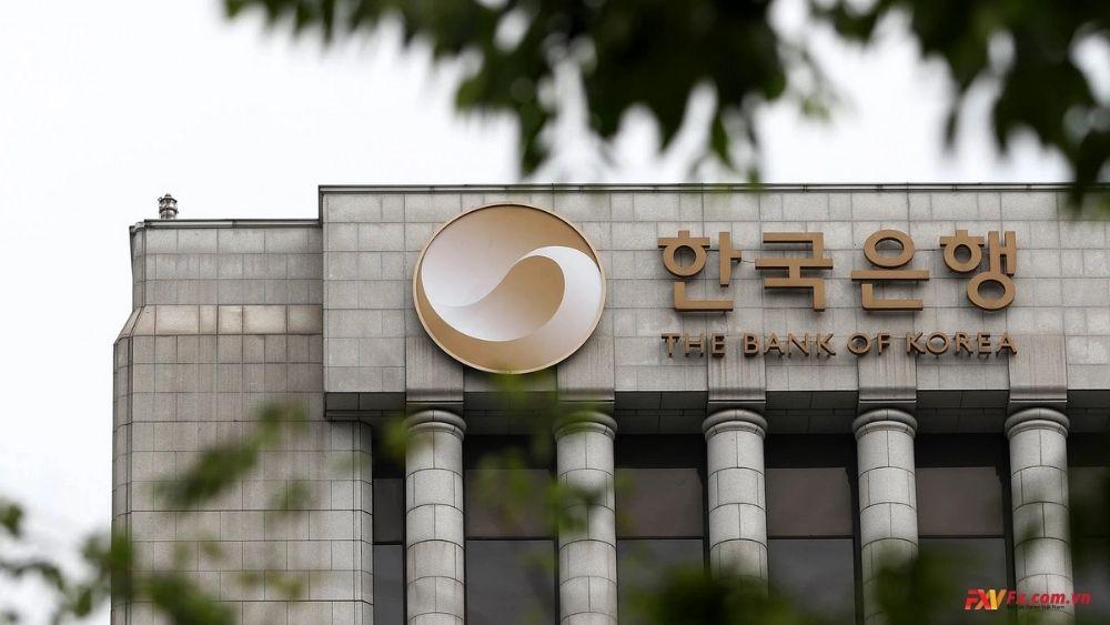 Ngân hàng Trung ương Hàn Quốc nắm giữ tỷ lệ mua